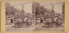 Fribourg Suisse Photo Stereo Vintage albumine ca 1870