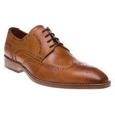 New Mens SOLE Tan Osbert Leather Shoes Brogue Lace Up