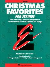 Essential Elements Christmas Favorites for Strings Violin Book Parts 1 000868011