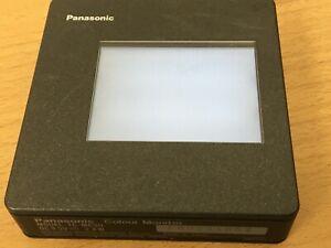Panasonic Colour Video Mini Monitor Tc-Mc3U  For Camcorder