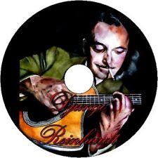 Django Reinhardt ficha de guitarra jazz gitano CD Tablatura canción libro grandes éxitos mejor