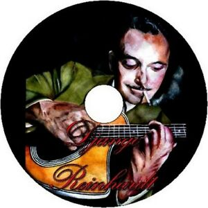DJANGO REINHARDT GYPSY JAZZ GUITAR TAB CD TABLATURE SONG BOOK GREATEST HITS BEST