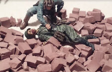 Diorama Building Materials-1/35 Scale Bricks-Buildings, Rubble-Clay Terra Cotta