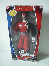 Power Rangers Talking SPD Red Figurine 32 cm / Bandai 2002