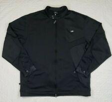 Jordan Nike Black Full Zip Jacket AF-1 Size XL