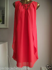 MONSOON VIBRANT RED ORINI WEDDING CRUISE WEDDING PARTY LAYERED DRESS NECKLACE 20