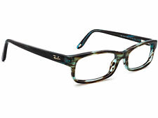 Ray Ban Eyeglasses RB 5187 5163 Brown Blue Marble Rectangular Frame 50[]16 140