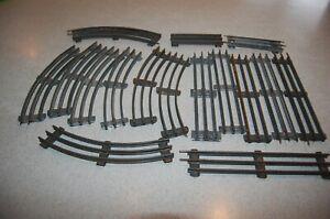 16 pc PREWAR LIONEL- IVES  O- GAGE MODEL TRAIN TRACK CURVE & STRAIGHT ORIGINAL