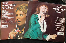 LULU The World Of Lulu 1&2 Two Records One Price LP