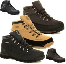MENS GROUNDWORK LEATHER LIGHTWEIGHT STEEL TOE CAP SAFETY WORK TRAINERS BOOTS SZ
