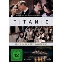 TITANIC TV-ZWEITEILER - 3 DVD NEUF THOMAS ALDRIDGE,SALLY BANKES,BEN BISHOP