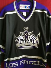 Los Angeles Kings Blank Black CCM Jersey XL