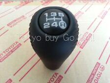 Toyota Land Cruiser 80 Black Leather 5Speed Shift Lever Knob Genuine OEM Parts