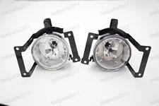 Front Spot Fog Lights Lamps W/Bulbs Pair For Hyundai Tucson 2005-2009