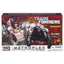 "TRANSFORMERS GENERATIONS TITAN CLASS 24"" METROPLEX FIGURE + LIGHTS & SOUNDS NEW"