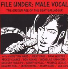 FILE UNDER MALE VOCAL - THE GOLDEN AGE OF.. (New & Sealed) CD Rare 60s British