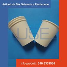 PZ 800 WHITE COFFEE PAPER CUP CL 8 (3 OZ) BICCHIERE IN CARTA BIANCA PER CAFFE'