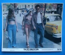 1976 Taxi Driver 8x10 Color Movie Photo DeNiro Scorsese Foster Mini Lc Nss 76/14