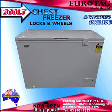 EUROTAG 300LT CHEST FREEZER 4 Baskets !BRAND NEW! 1 Years Warranty