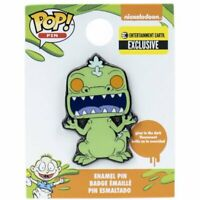 Funko Pop! Pin Rugrats Reptar Glow-in-the-Dark Enamel Pin - EE Exclusive