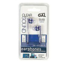 GAL M-005B-F Earphone For MP3 Music,DVD,IPod