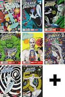 SILVER SURFER VOL 2 thru VOL 7 #1,2,3,4+ VARIANTS, EXCLUSIVES ~ Marvel Comics