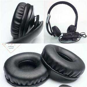 Soft Leather EarPads Foam Cushion For Microsoft LifeChat LX-6000 LX 6000 Headset