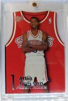 1996 96 Fleer Ultra Fresh Faces Allen Iverson Rookie RC #5, Rare Die Cut Insert!