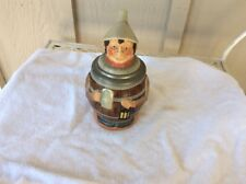"Antique 1/2 Liter Character 8"" Stein Mug Marked Made In Germany-Very Good Shape!"