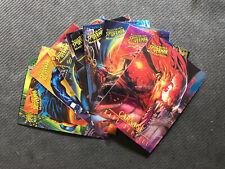 1995 FLEER ULTRA SPIDER-MAN MASTERPIECES COMPLETE (9) CARD SET CARNAGE/VENOM++