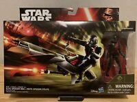 """Star Wars Elite Speeder Bike with 3.75"""" Stormtrooper Scout"""
