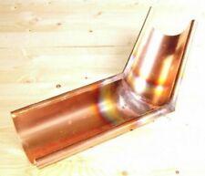 Kupfer Dachrinnen-Außenecke 45°-8-tlg
