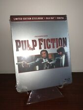 Pulp Fiction Steelbook(Blu-ray/Digital) Factory Sealed Extremely Rare, Sold Out!