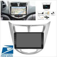 "For Hyundai Solaris Accent Verna 9"" Android 9.1 Car Radio GPS WIFI 3G 4G BT DAB"