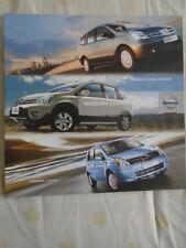 Nissan Livina range brochure Apr 2010 South African market