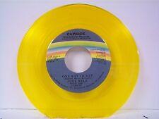 "JOEY WELZ ""ONE WAY TICKET / HEADIN FOR THE 90'S"" 45 MINT GOLD VINYL"