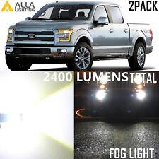 Alla Lighting Fog Light LED Driving Bulb White for Ford F150 F250 F350 F450 Duty