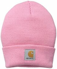 Carhartt Baby Girls Acrylic Watch Hat, Rosebloom, Toddler
