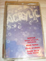 Acrylic CASSETTE NEW self titled