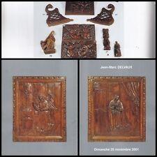 CATALOGUE J.-M. DELVAUX COLLECTION D'ART POPULAIRE VENTE 2001