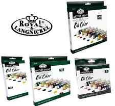 Royal Langnickel Olio Colore Pittura Set Artista Grande 21ml Tubetti & Spazzole