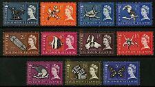Solomon Islands  1965  Scott # 128-140  Mint Lightly Hinged Part Set