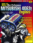 MITSUBISHI 4G63t MANUAL BOOK ENGINE PERFORMANCE MAX ECLIPSE LANCER EVOLUTION GTX