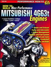 MITSUBISHI 4G63t MANUAL BOOK ENGINE PERFORMANCE MAX ECLIPSE LANCER EVOLUTION GTX