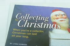 3 Page Article Collecting for Christmas Dec/Jan 2004 Doll Reader Magazine Color