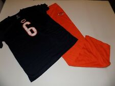 CHICAGO BEARS #6 CUTLER 2 PIECE KNIT PAJAMA SET YOUTH SIZE L (14/16) NWT