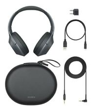 Sony WH1000XM2/B All Accessories Included Noise Cancelling WH-1000XM2 (Black)