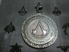 Assassin's Creed Comic-Con San Diego 2007 ciondolo in Argento 925-artigianato
