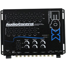 New Audiocontrol EQX 2 Channel Amp EQ 13 Band Equalizer 24dB Octave Crossover