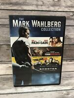 Mark Wahlberg Collection Pain & Gain Shooter Italian Job *NO Four Brothers* DVD